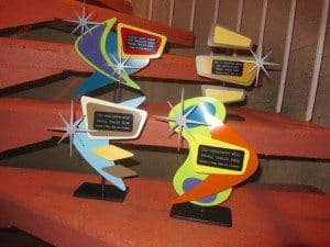 Awards designed by Steve Cambronne