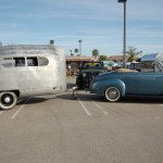 1936 Schultz Travel Trailer and a 1940 Mercury Funky Junk Farms